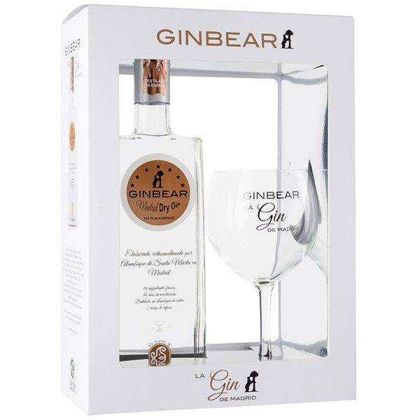 ginbear pack con copa