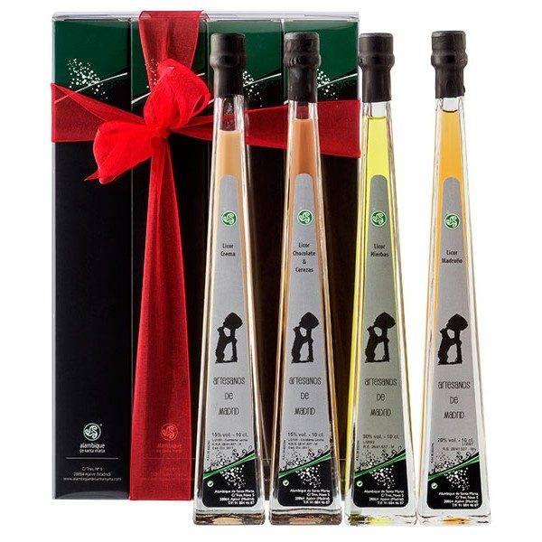 pack-4-botellas-piramidal santa marta jpg